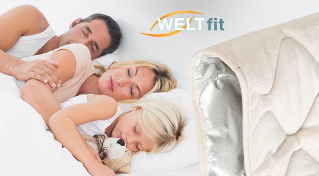 Fotka zľavy: Praktická vyhrievacia podložka a chránič na matrac v jednom už od 9,99 €. Zlepšuje kvalitu spánku, zdravie, šetrí životné prostredie i vašu peňaženku. Dostupná v 2 rozmeroch.