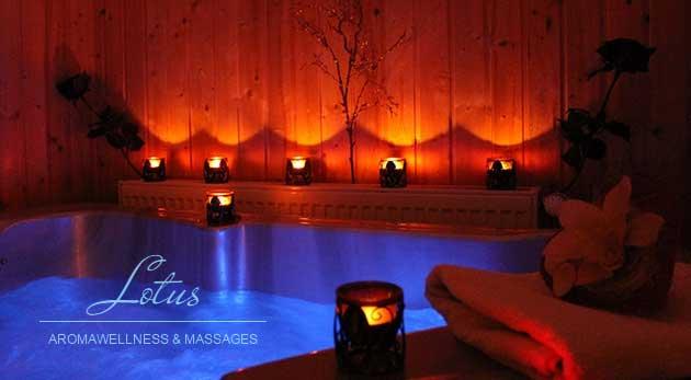 Privátne wellness v Lotus aromawellness & massages v Ružinove