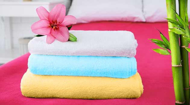 Kvalitné bambusové uteráky alebo osušky - na výber z 12 farieb