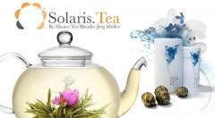 Zľava 40%: Exkluzívne kvitnúce čaje SOLARIS už od 1,49 €, s ktorými bude pitie čaju zážitkom. Púčiky z bieleho čaju a jazmínu sú z kontrolovaného ekologického hospodárstva.