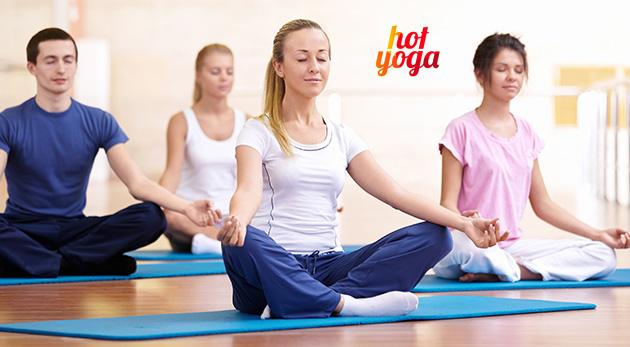 3-, 6- alebo 12-týždňové kurzy hot yogy v Bratislave