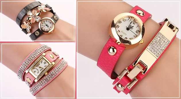 Dámske remienkové hodinky - na výber 3 druhy