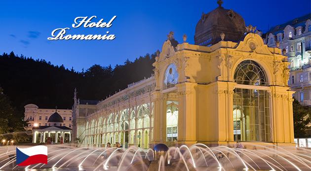 Hotel Romania*** v Mariánskych Lázňach - kúpeľný pobyt s množstvom procedúr