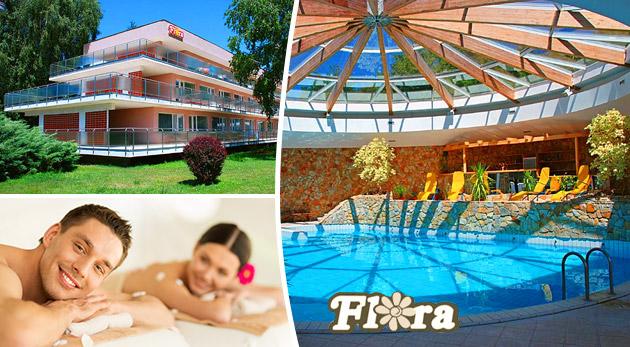 Relaxom nabité 3, 4 alebo 5 dní v Hoteli Flóra v kúpeľných Dudinciach