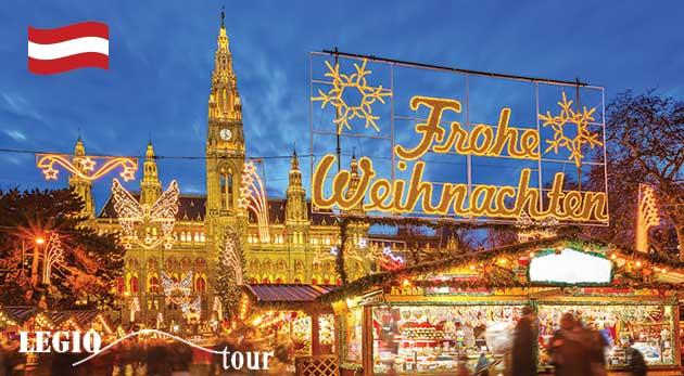 Jednodňový zájazd do romantickej adventnej Viedne na vianočné trhy