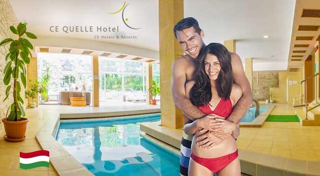 Vynikajúci relax v Ce Quelle Hoteli**** v maďarskom kúpeľnom mestečku Hévíz
