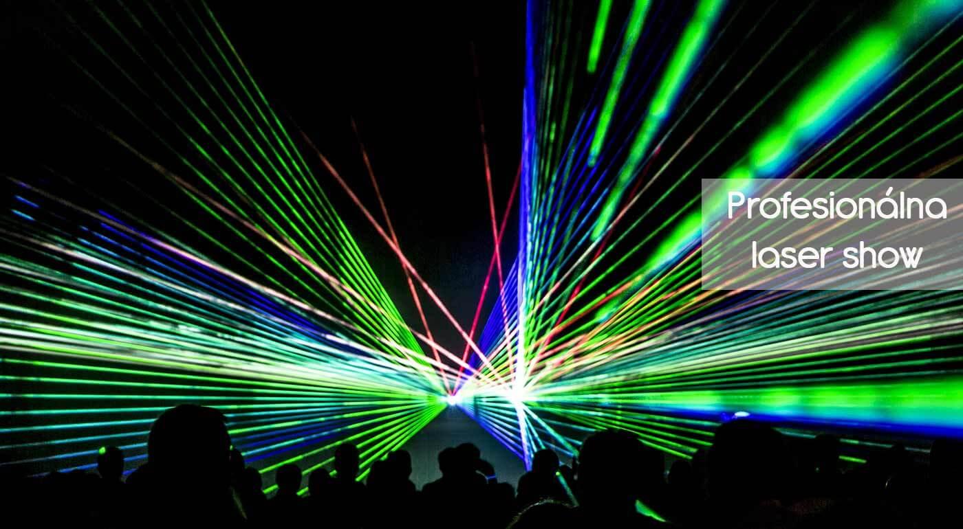 Profesionálna laserová show - 5 hodín svetelných trikov, ktoré ozvláštnia svadbu, firemnú akciu alebo párty!