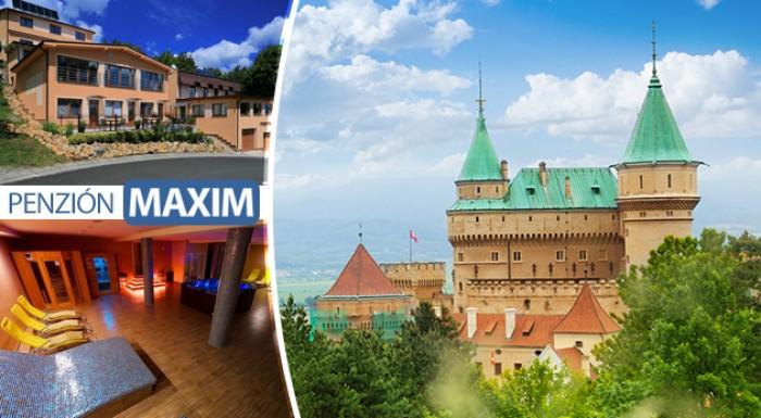 Fotka zľavy: Spoznajte romantické Bojnice a doprajte si dni plné oddychu v Penzióne Maxim v Bojniciach už od 69 € pre dvoch s polpenziou aj vstupom do wellness.