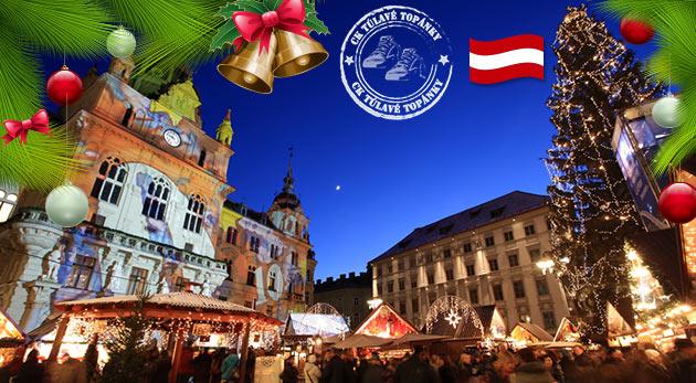 Vianočné rakúske mesto Graz a sprievod čertov - jednodňový autobusový zájazd