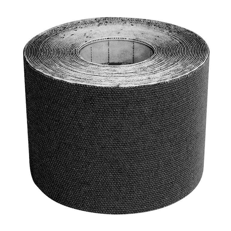 Tejpovacia páska zo 100% bavlny - farba čierna