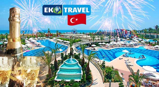 8-dňový silvestrovský letecký zájazd do Turecka
