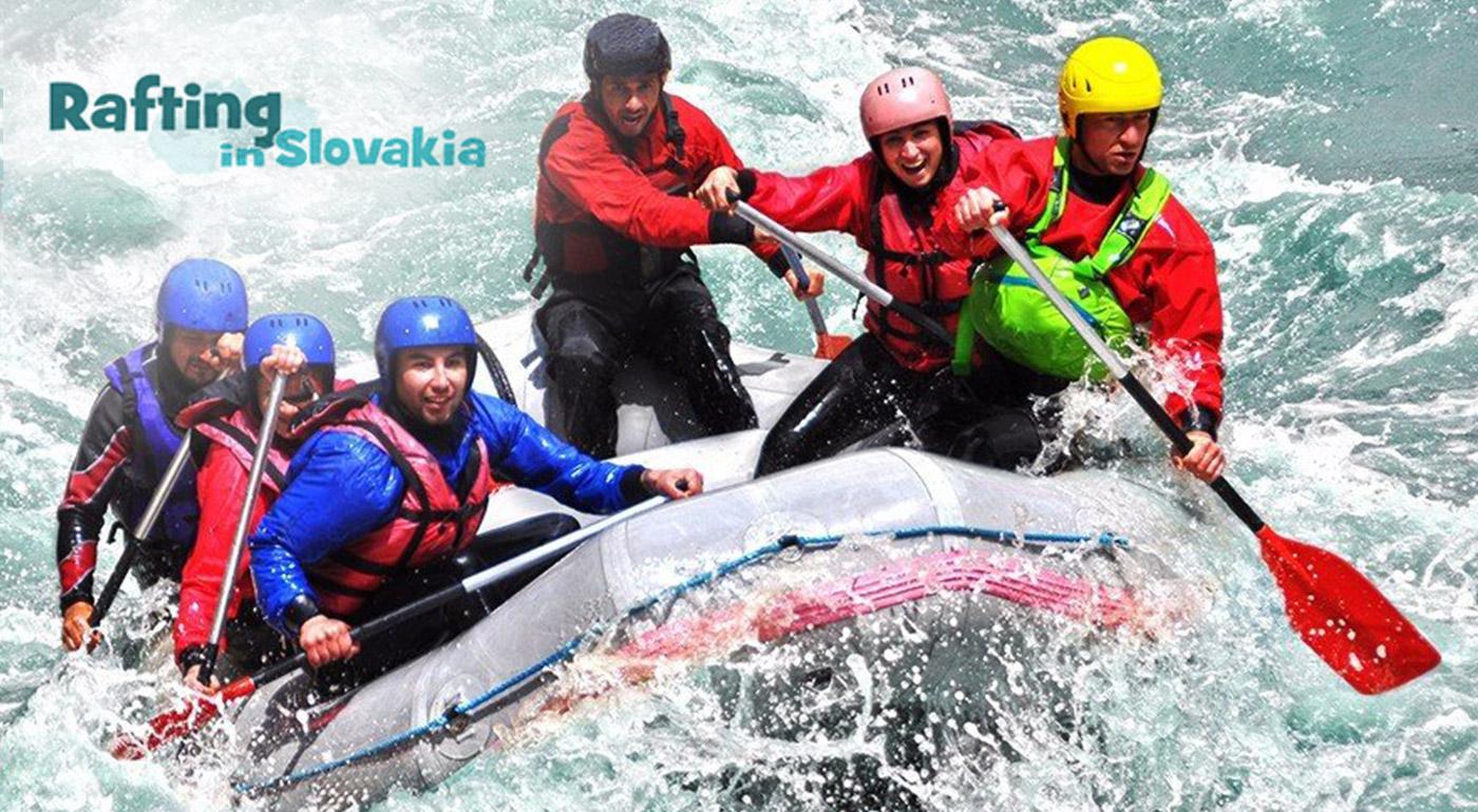 Adrenalínový splav divokej rieky Belá