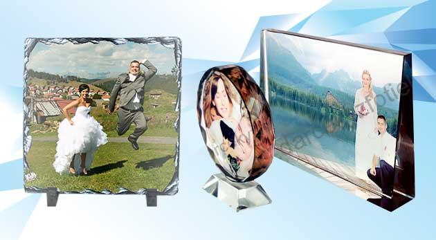 Krásna ozdoba do vášho bytu - fotokameň alebo fotokryštál s vašou vlastnou fotografiou