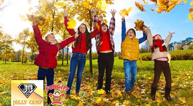 Denný tábor Jolly Camp pre deti počas jesenných prázdnin s celodenným programom, stravou a vstupným na výlety