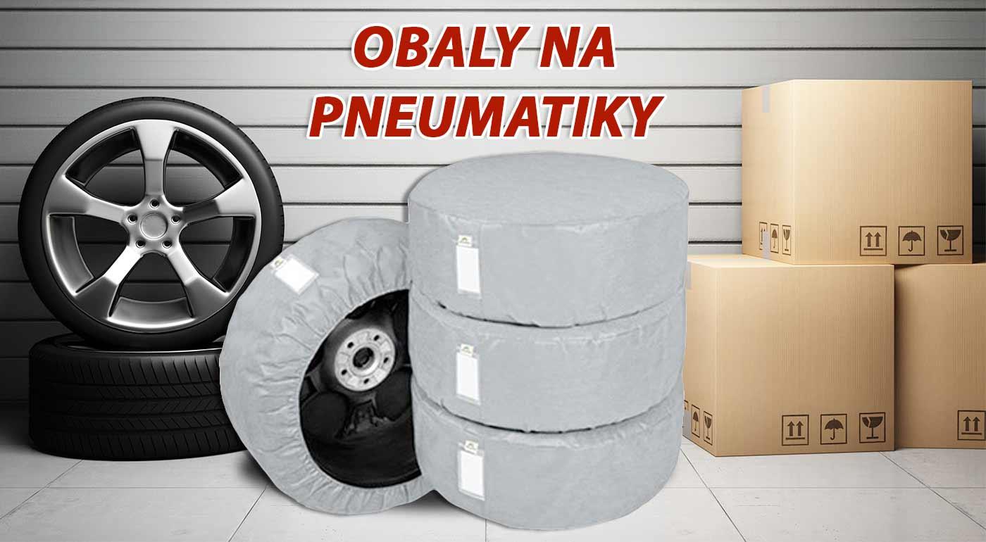 Sada 4 ochranných obalov na pneumatiky