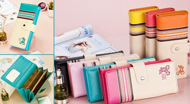 Svieže dámske peňaženky - na výber v 7 farbách