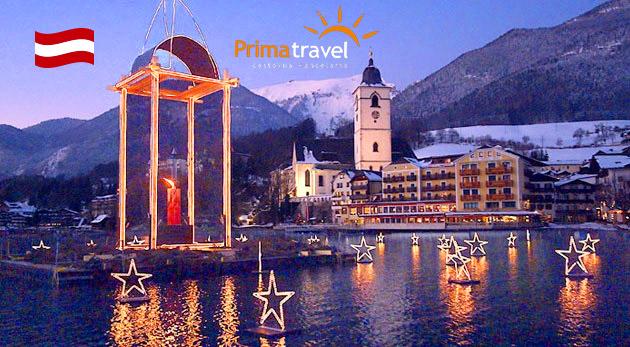 Vianočný Salzburg, dedinka Hallstatt a legendárny advent na jazere Wolfgangsee - 2-dňový autobusový zájazd
