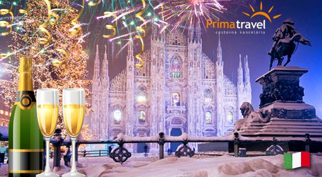 Štýlový Silvester v nádhernom Miláne a Bergame