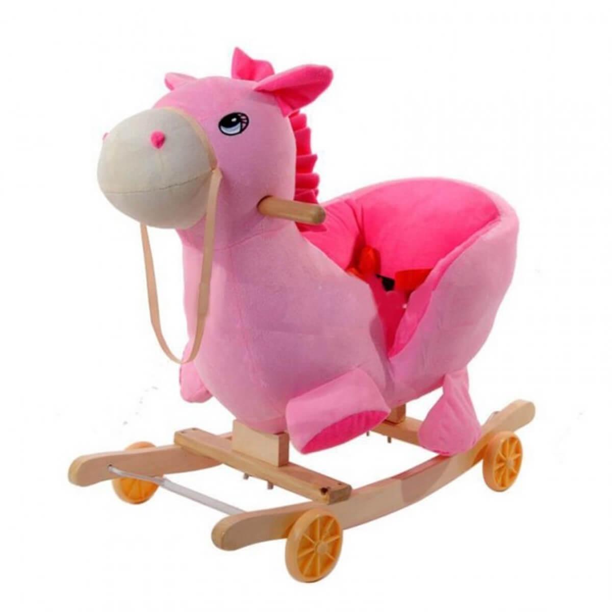 Hojdacie zvieratko - ružový koník