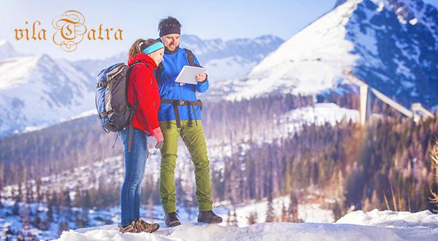 Penzión Vila Tatra - zimný rodinný pobyt na 3 alebo 6 dní pre 2 osoby