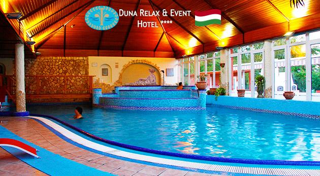 Pobyt plný wellness spolu s polpenziou 4* hoteli s výhľadom na Dunaj v Maďarsku