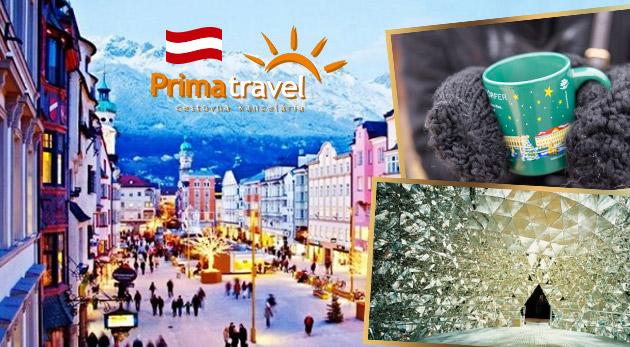 Rozprávkový víkend v Innsbrucku v Tirolsku