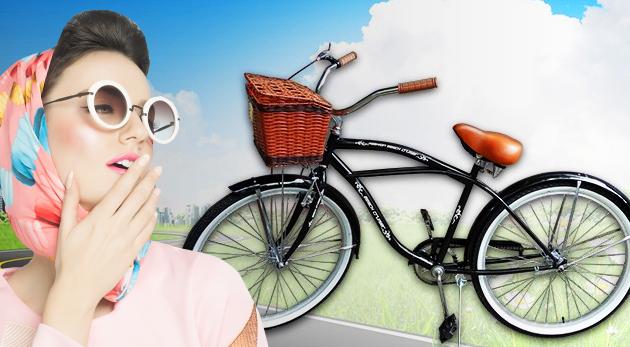 Štýlový retro bicykel