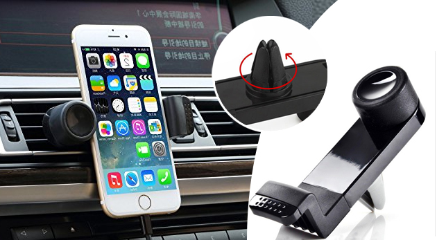 Univerzálny rotačný držiak na mobil do auta