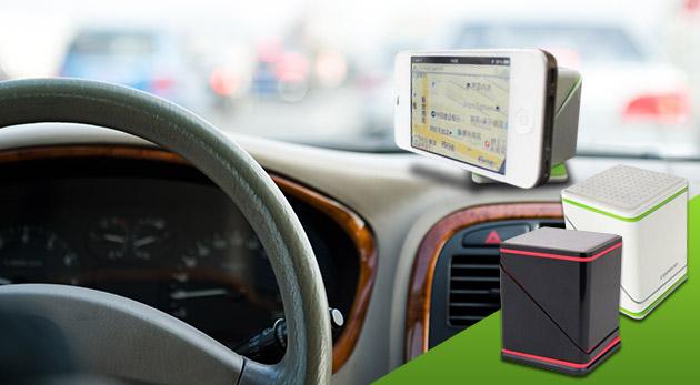Univerzálny držiak Magic Cube do auta na navigáciu, smartfón, tablet či kameru