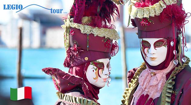 Zájazd do Benátok počas pompézneho karnevalu
