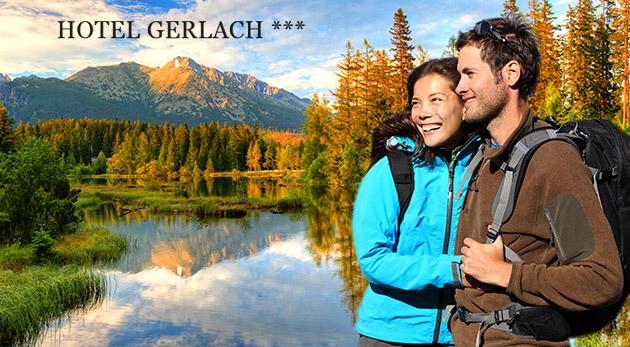 Relax v obklopení Vysokých Tatier v Hoteli Gerlach*** v Poprade