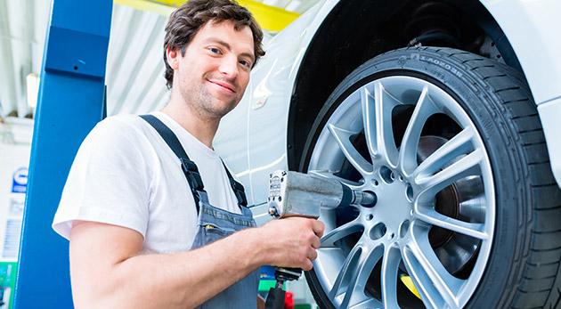 Jesenné prezutie a kompletné vyváženie pneumatík pri Poluse