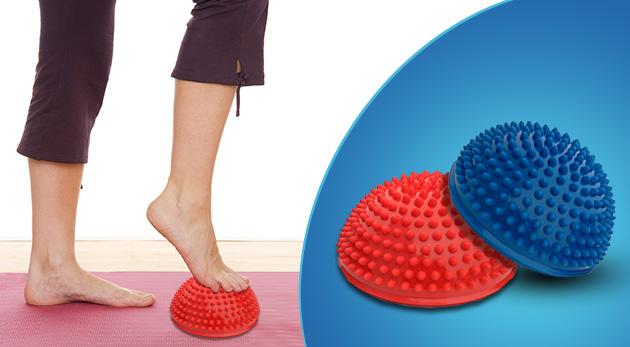Uľavte organizmu masážou balančným ježkom
