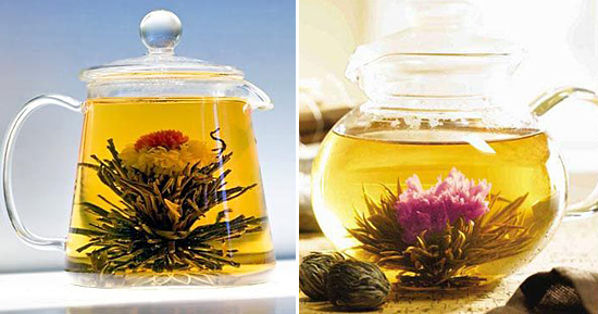 kvitnúce čaje teazona