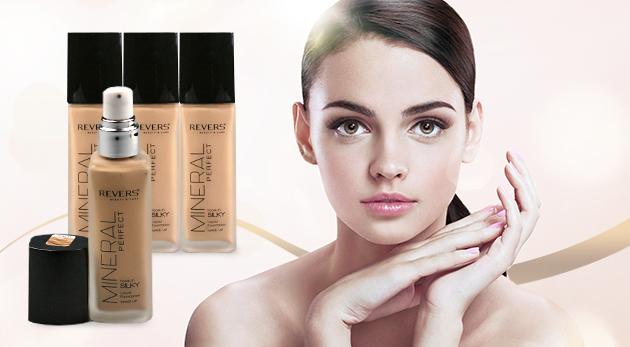 Dámsky minerálny make-up Revers - 2 kusy