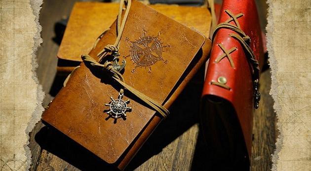 Cestovateľský vintage zápisník, ktorý vdýchne život každej vašej spomienke!