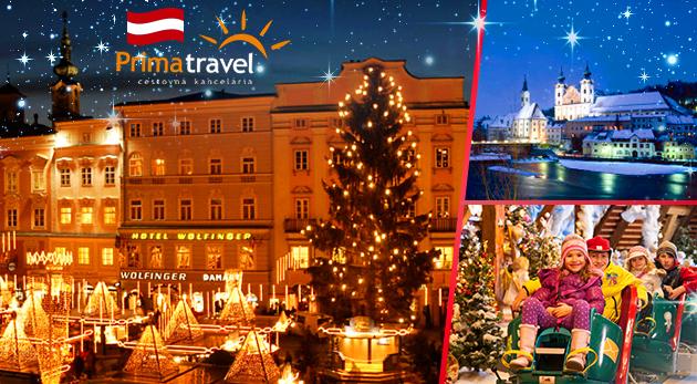 Zažite adventnú magickú atmosféru Rakúska v mestách Steyr a Linz