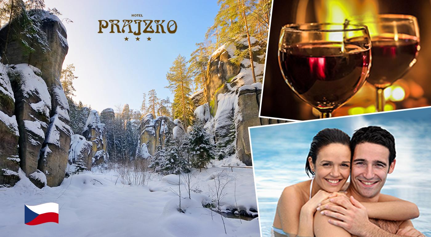 Relaxačné 3, 4 alebo 6 dní v Hoteli Prajzko*** v krásnom Adršpašsku