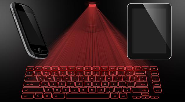 Revolúcia v písaní - Hi-Tech laserová klávesnica