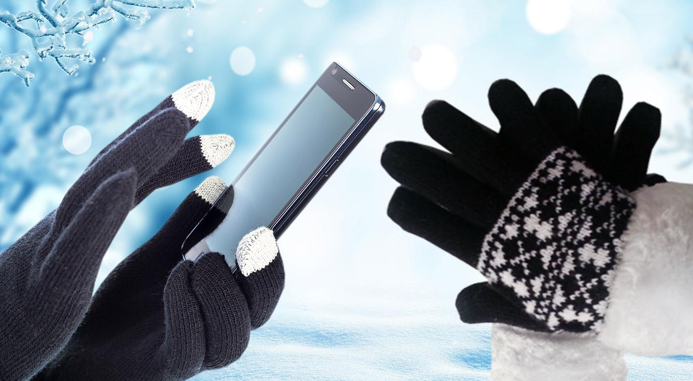 Skvelá vychytávka! Dámske alebo pánske rukavice na dotykové mobilné telefóny