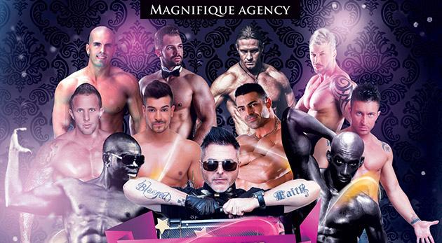 Veľkolepá striptízová show Magnifique Ladies Night v Košiciach