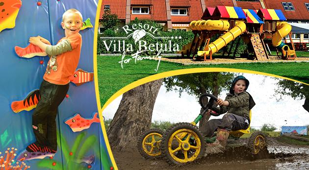 Celodenný vstup na najväčšie a najzábavnejšie detské ihrisko na Liptove - BABYLAND VILLA BETULA