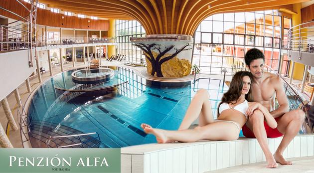 Fotka zľavy: Relax vo dvojici pri termálnom kúpalisku Podhájska - 4 alebo 8 dní v Penzióne Alfa už od 59 € so skvelými zľavami do Rímskych kúpeľov! V ponuke aj výhodné rodinné kupóny!