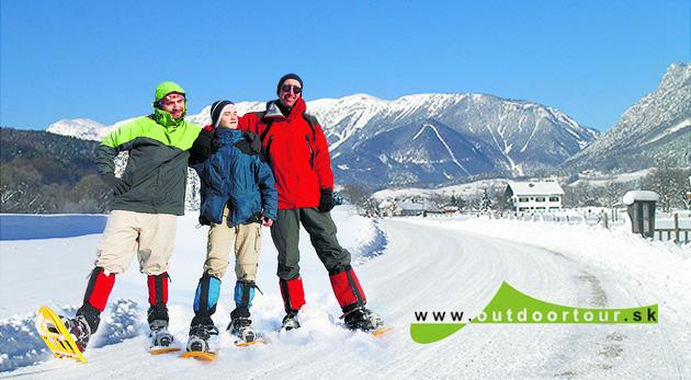 Dobrodružná snežnicová túra na dvojtisícovku v rakúskych Alpách