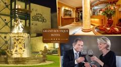Zľava 60%: Doprajte svojim rodičom skvelý pobyt v piešťanských kúpeľoch s plnou penziou a wellness! Čaká ich skvelý oddych na 3 alebo 4 dni pre 2 osoby v luxusnom Grand Boutique Hoteli Sergijo**** už od 135 €.