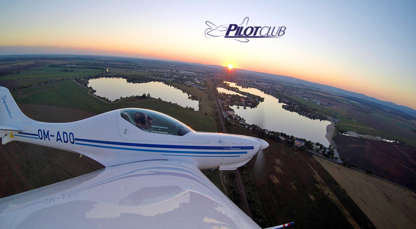 Zážitkový let slovenským športovým lietadlom Aerospool WT9 Dynamic s možnosťou pilotovania