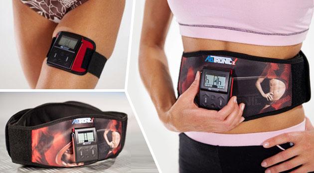 Elektronický systém na cvičenie AbTronic X2 - majte úzky driek už za pár dní!