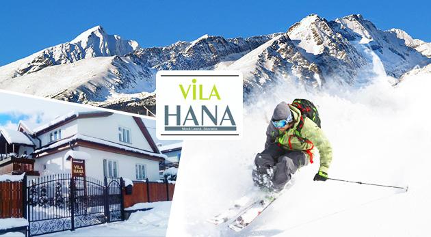 Vila Hana v Novej Lesnej - skvelý tip na zimnú dovolenku vo Vysokých Tatrách