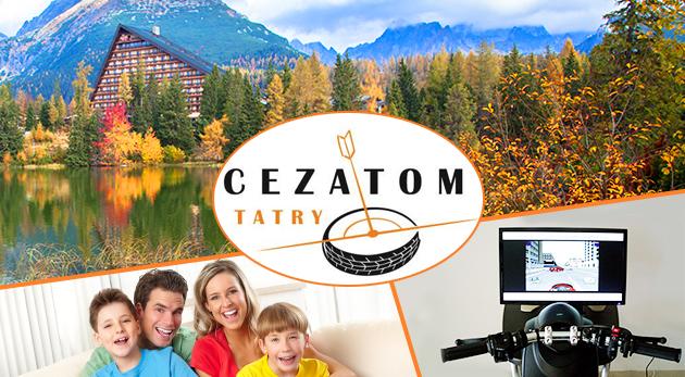 Hodinový vstup do zábavného centra CEZATOM TATRY na Štrbskom Plese