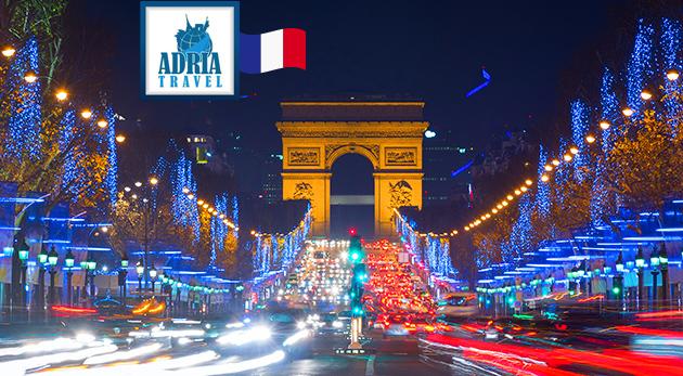 Romantika v Paríži a vo Versailles a nádherná atmosféra blížiacich sa Vianoc
